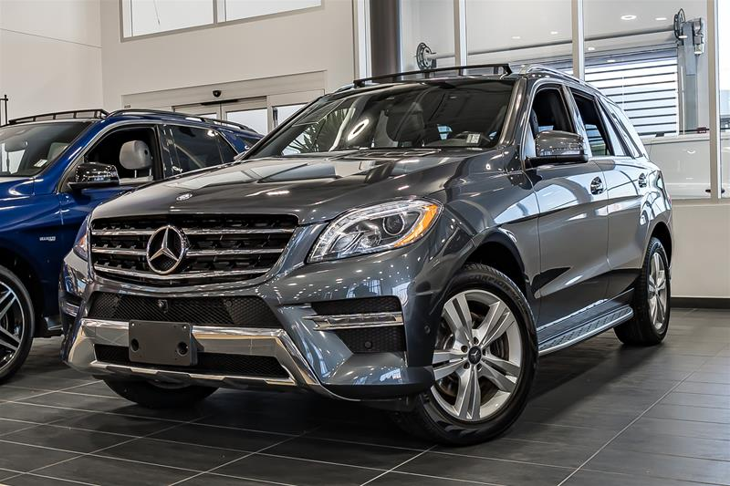 pre owned 2015 mercedes benz ml class ml350 suv in calgary. Black Bedroom Furniture Sets. Home Design Ideas