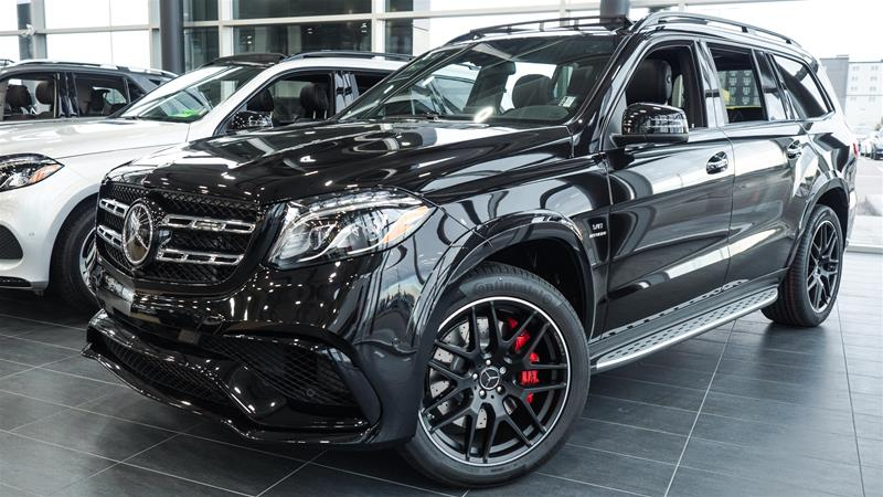 New 2018 Mercedes Benz Gls Gls63 Amg Suv In Calgary