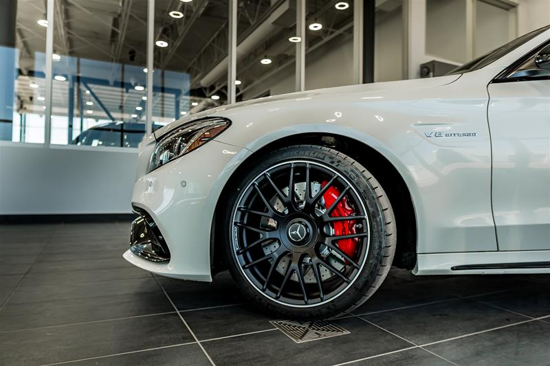 New 2018 Mercedes Benz C Class C63 S Amg 4 Door Sedan In