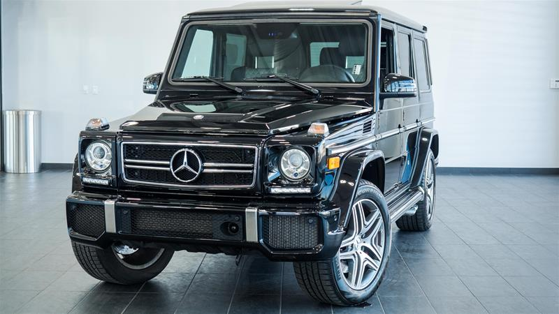 Certified pre owned 2014 mercedes benz g class g63 amg suv for Mercedes benz g63 amg suv