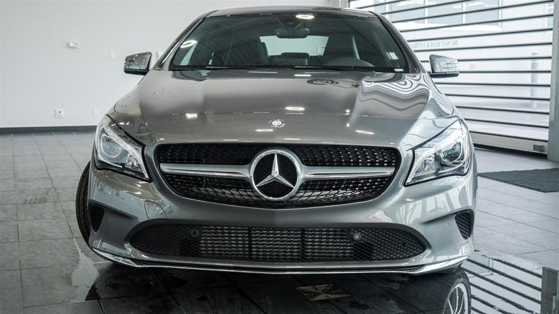 New 2018 mercedes benz cla cla250 4matic coupe in calgary for Mercedes benz bloomfield hills service hours