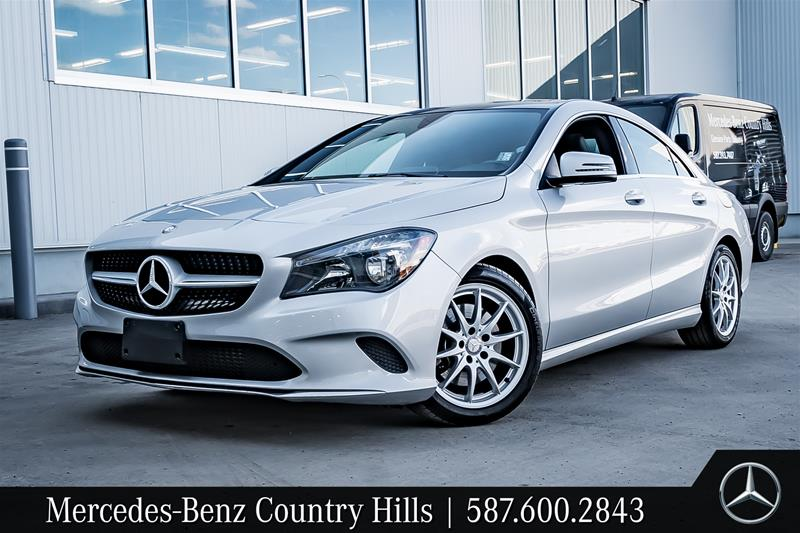 Certified Pre Owned 2017 Mercedes Benz Cla Cla250