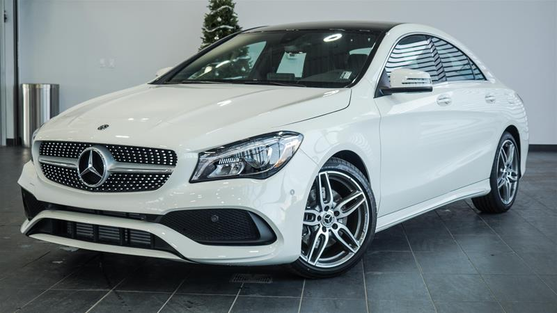 New 2018 Mercedes Benz Cla250 Cla250 Coupe In Calgary