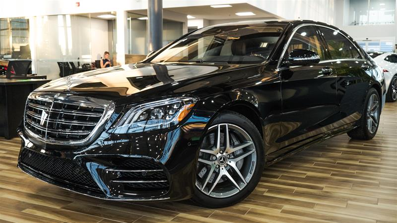 New 2018 mercedes benz s class s560 sedan in calgary for Mercedes benz bloomfield hills service hours