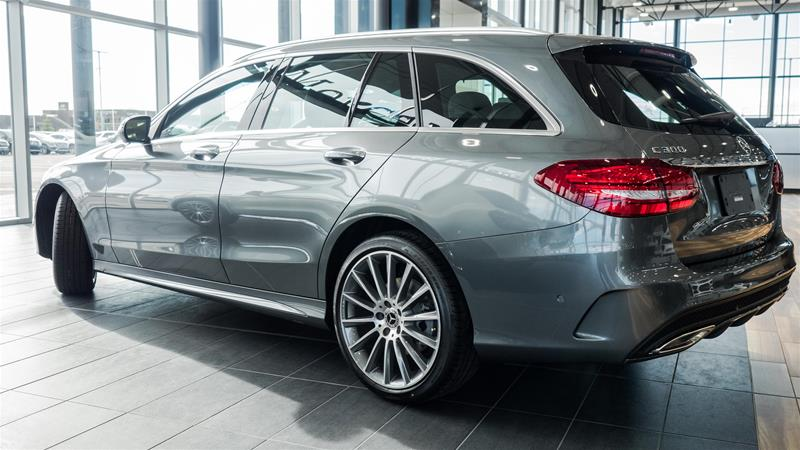 New 2018 Mercedes Benz C Class C300 4matic Wagon In