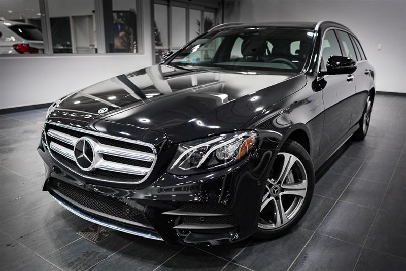 New 2018 mercedes benz e class e400 wagon in calgary for Mercedes benz bloomfield hills service hours