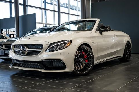 Certified Pre-Owned 2018 Mercedes-Benz C-CLASS C63 S AMG
