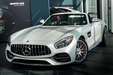 new 2018 mercedes benz amg gt amg gt c convertible in calgary